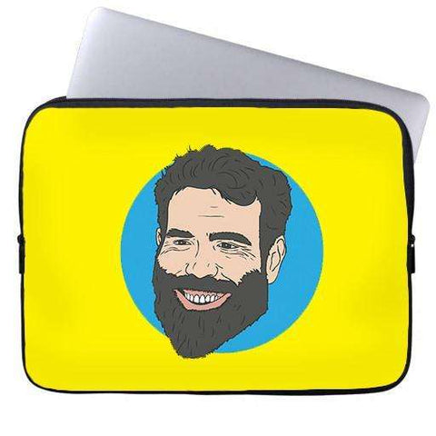 Dan Bilzerian Laptop Sleeve