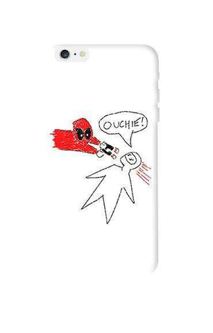 Deadpool Doodle   Apple iPhone 6 Plus Case