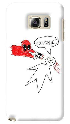 Deadpool Doodle  Samsung Galaxy Note 5 Case