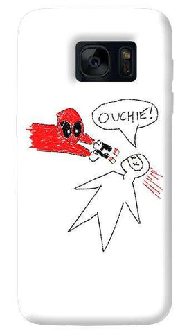 Deadpool Doodle  Samsung Galaxy S7 Edge Case