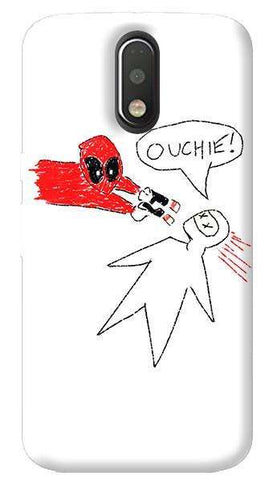Deadpool Doodle Motorola Moto G4/ G4 Plus Case