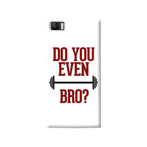 Do You Even Lift Bro Xiaomi Mi3 Case