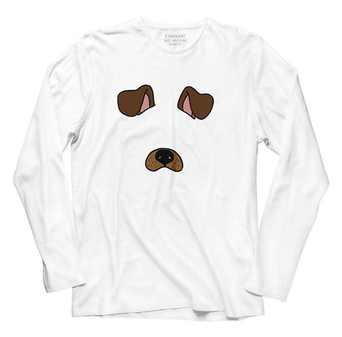 Dog Filter Full Sleeves T-Shirt