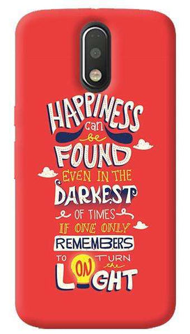 Dubledore On Happiness Motorola Moto G4/ G4 Plus Case