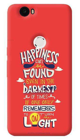 Dumbledore On Happiness   Nexus 6P Case