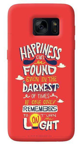 Dumbledore On Happiness  Samsung Galaxy S7 Edge Case