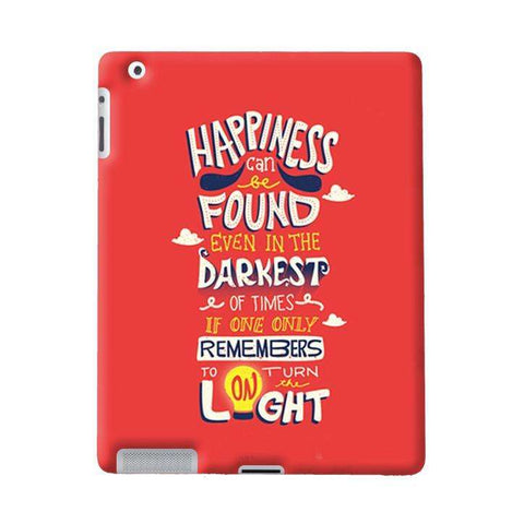 Dumbledore On Happiness Apple iPad Case