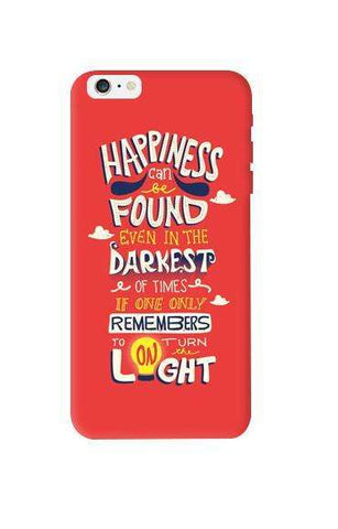 Dumbledore On Happiness Apple iPhone 6 Plus Case