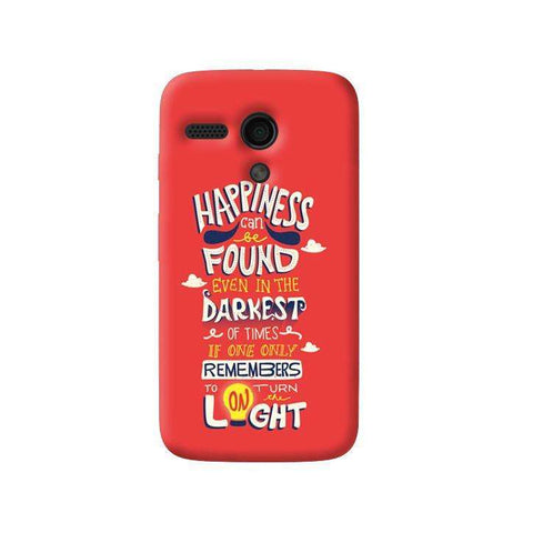 Dumbledore On Happiness Moto G Case