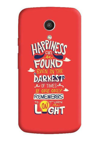 Dumbledore On Happiness Motorola Moto G 2nd Gen Case