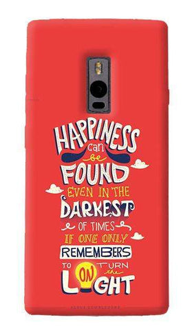 Dumbledore On Happiness OnePlus Two Case