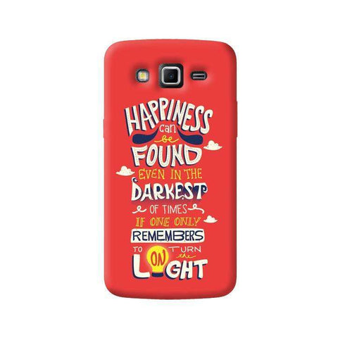 Dumbledore On Happiness Samsung Galaxy Grand 2 Case