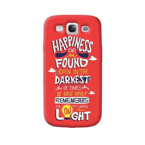 Dumbledore On Happiness Samsung Galaxy S3 Case