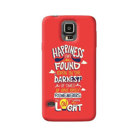 Dumbledore On Happiness Samsung Galaxy S5 Case