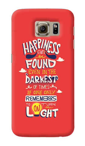 Dumbledore On Happiness Samsung Galaxy S6 Case