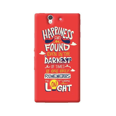 Dumbledore On Happiness Sony Xperia Z Case
