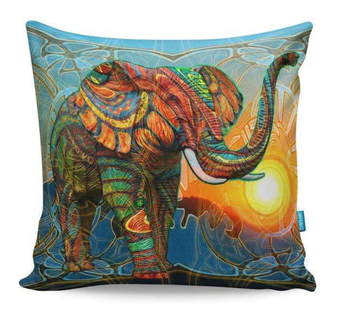 Elephant's Dream Cushion Cover