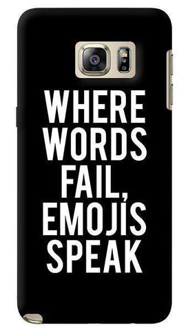 EMOJI  Samsung Galaxy Note 5 Case