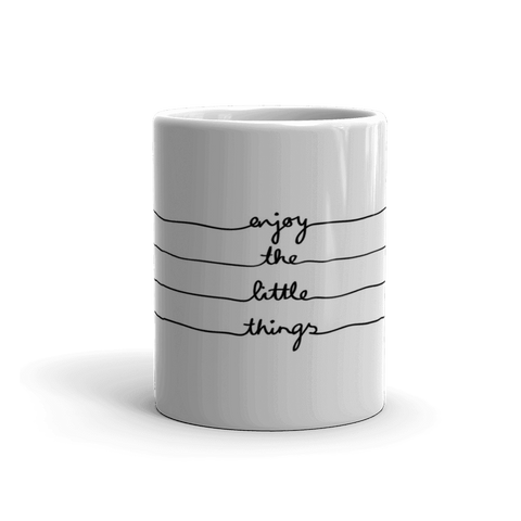 Enjoy Little Things Coffee Mug