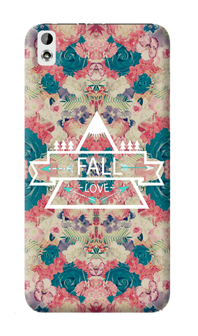 Fall Love HTC Desire 816 Case