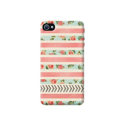 Flora Arrows Apple iPhone 4/4S Case