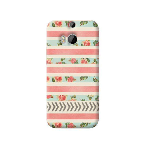 Flora Arrows HTC One M8 Case