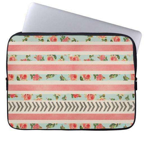 Flora Arrows Laptop Sleeve