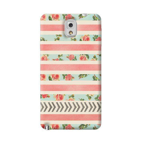 Flora Arrows Samsung Galaxy Note 3 Case