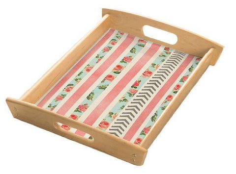 Flora Arrows Serving Tray