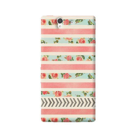 Flora Arrows Sony Xperia Z Case
