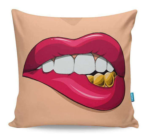 Fool's Gold Cushion Cover