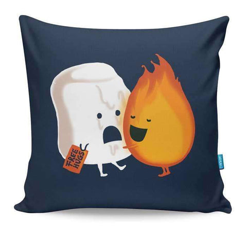 Friendly Fire Cushion Cover