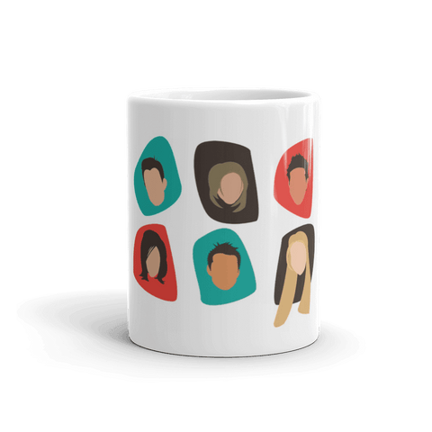 Friends Minimal Coffee Mug