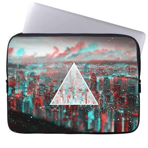 Galaxy Triangle Laptop Sleeve