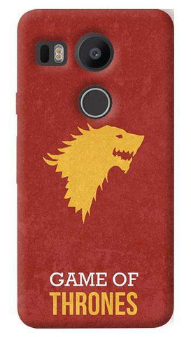 Game of Thrones   Nexus 5X Case