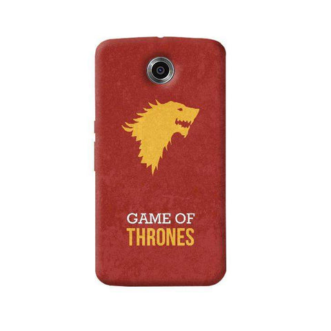 Game of Thrones Nexus 6 Case