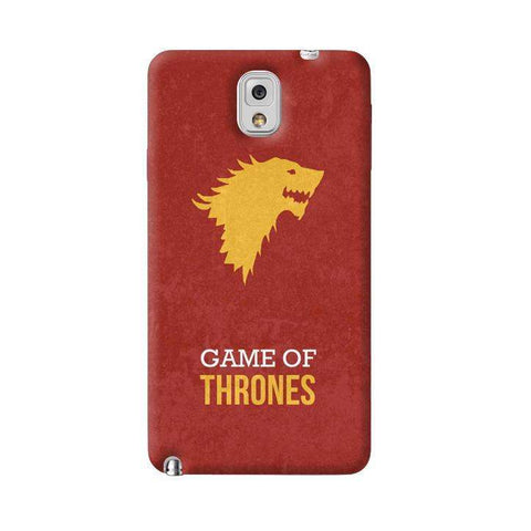 Game of Thrones Samsung Galaxy Note 3 Case