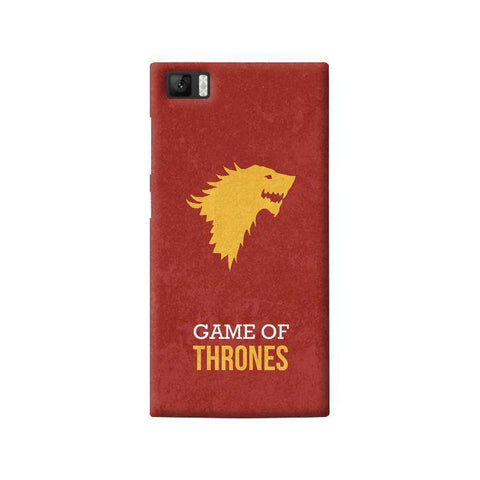 Game of Thrones Xiaomi Mi3 Case