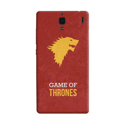 Game of Thrones Xiaomi Redmi 1S Case