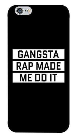 Gangsta Rap Apple iPhone 6/6S Case