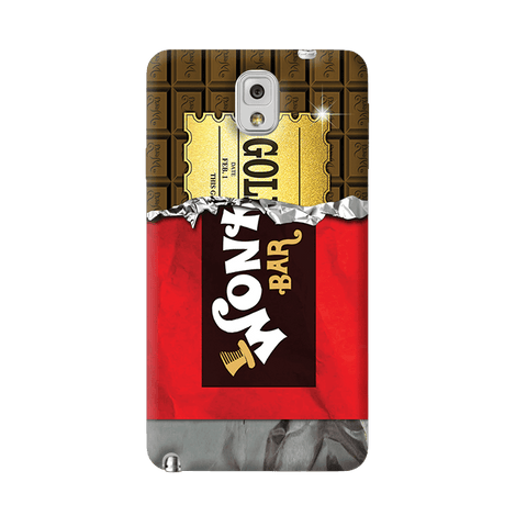 Golden Ticket Samsung Galaxy Note 3 Case