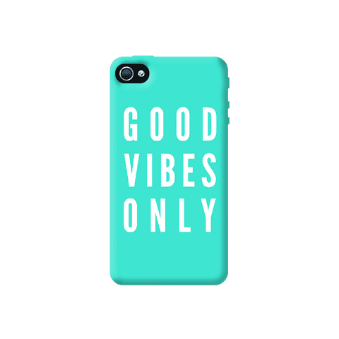 Good Vibes Only Apple iPhone 4/4S Case