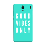 Good Vibes Only Redmi 1S Case