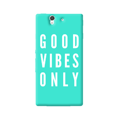 Good Vibes Only Sony Xperia Z Case
