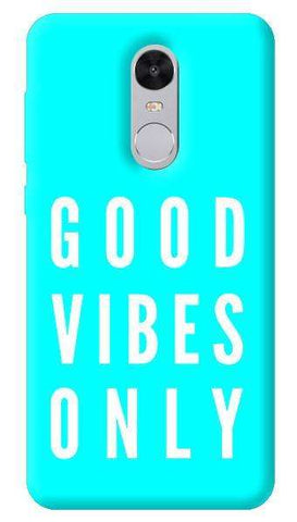 Good Vibes Only Xiaomi Redmi Note 4 Case