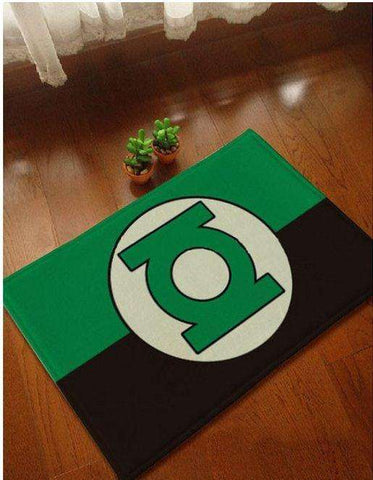 Green Lantern Door Mat