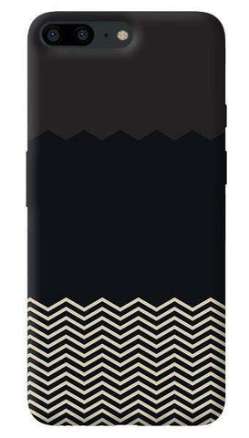 Grey Chevron Oneplus 5 Case