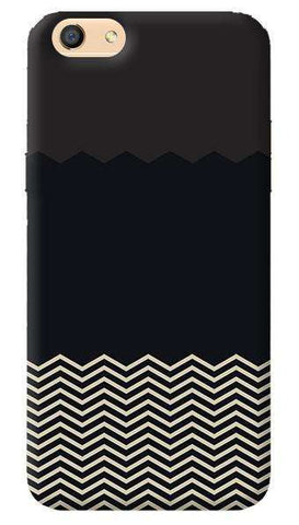 Grey Chevron Oppo F3 Case