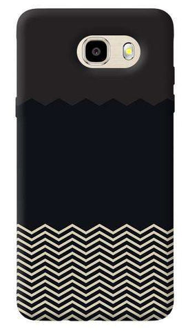 Grey Chevron Samsung Galaxy J7 Prime Case