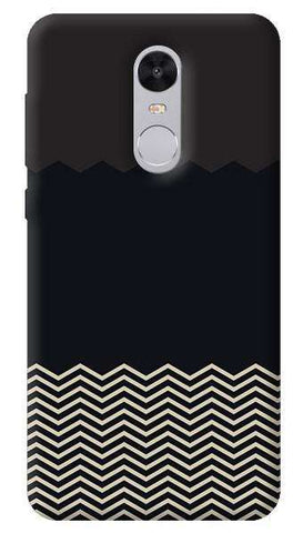 Grey Chevron Xiaomi Redmi Note 4 Case